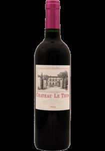 Vin château le thys cadillac côtes de bordeaux